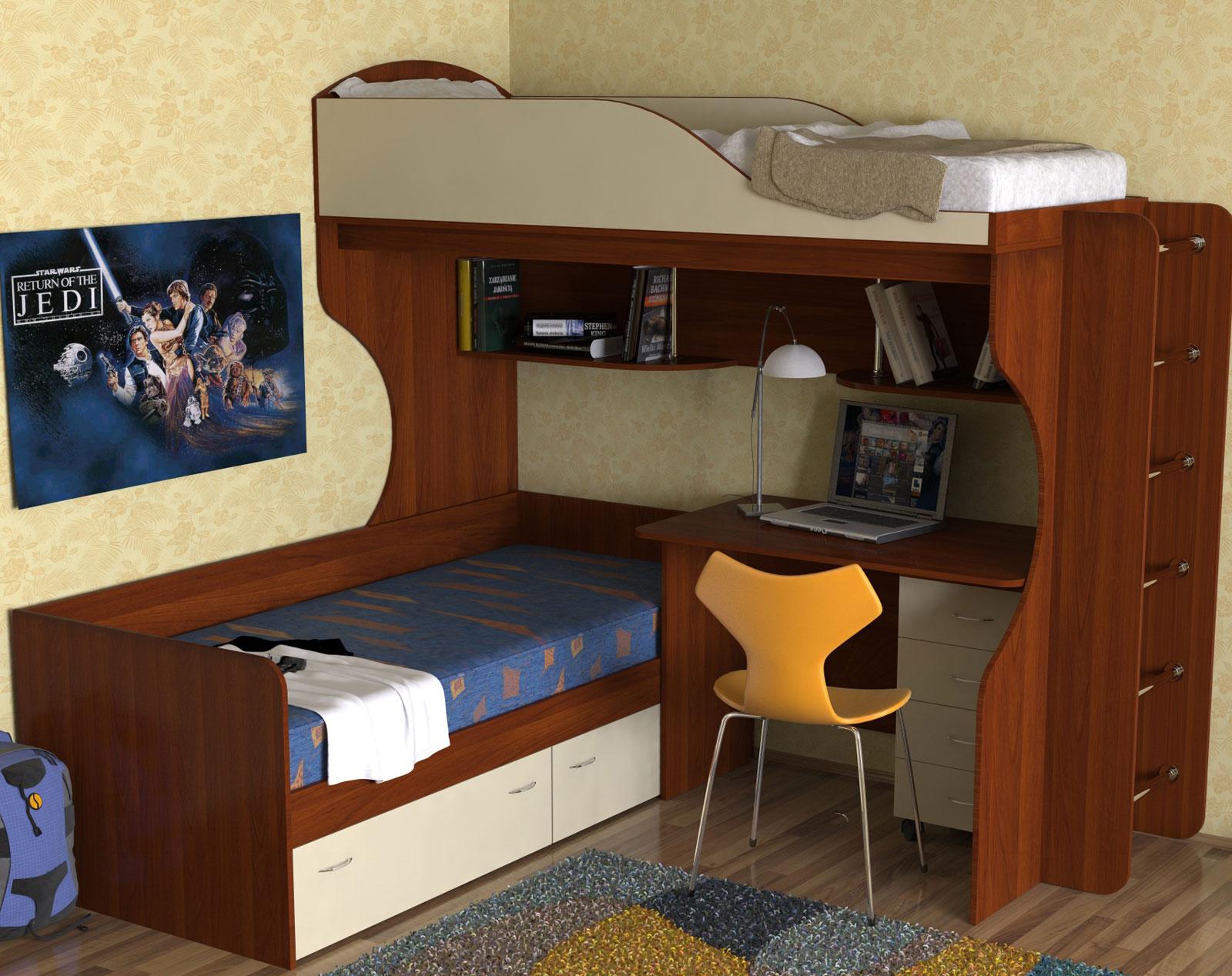 Двухъярусные кровати - изготовление на заказ.
